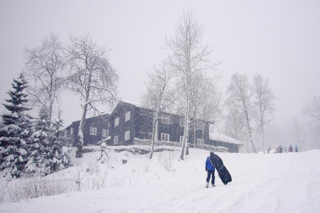 Kikut lodge, Oslo. Norway
