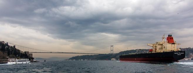 Northern Bosporus bridge, Turkey