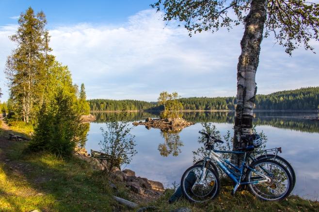 Lake Katnosa, Oslo, early September