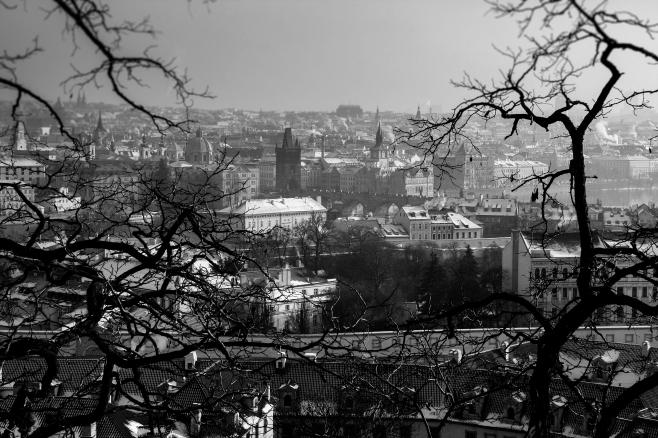View of Nove Mesto (New City)