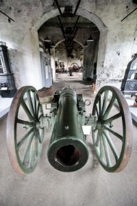 Kanon for den norske hæren laga i 1860-åra på Nes Verk