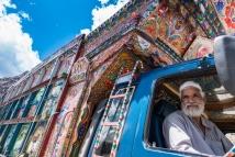 Pakistansk lastebilsjåfør