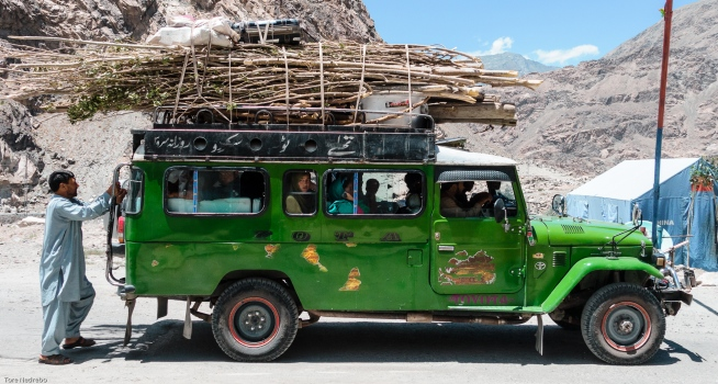 Toyota Jeep-buss